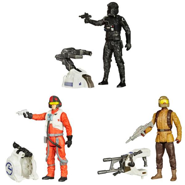 Hasbro Star Wars B3445 Звездные Войны Фигурка Миссия в джунглях/Космическая миссия (в ассортименте)