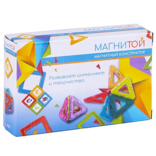 """Магнитой LL-1002 Конструктор магнитный"""" 8 треугольников"""""""