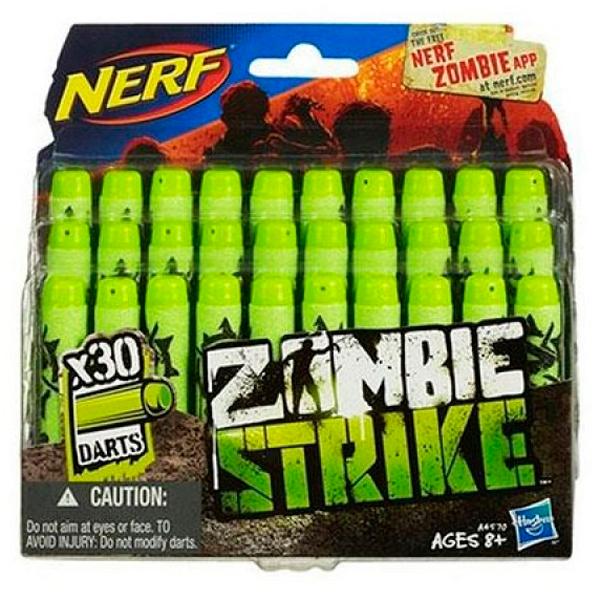 Hasbro Nerf A4570 Нерф Зомби Страйк 30 стрел для бластеров