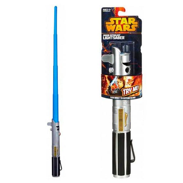 Star Wars A1189 Звездные Войны Базовый раздвижной меч, в ассортименте