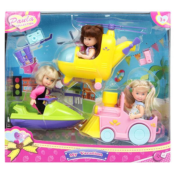 цена на Paula MC23409 Игровой набор Транспорт