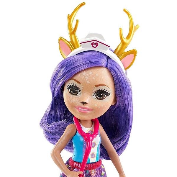 Mattel Enchantimals GBX04 Кукла со зверушкой и тематическим набором