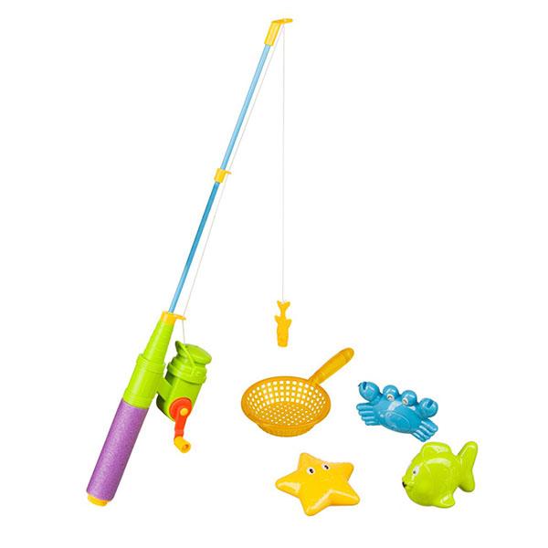 Happy Baby 32025 Набор игрушек для ванной LITTLE FISHMAN