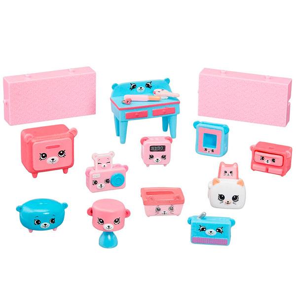 """Happy Places 56378 Игровой набор для декора """"Мишки для спальни"""""""