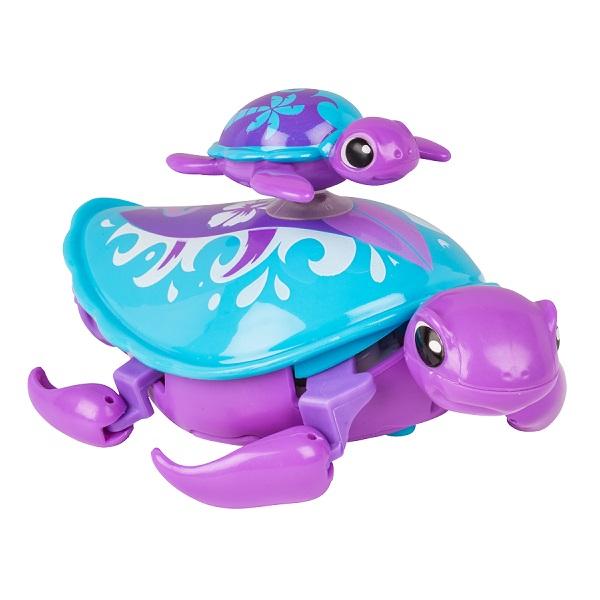 Little Live Pets 28416 Интерактивная черепашка с малышом фиолетовая григорий лепс парус live