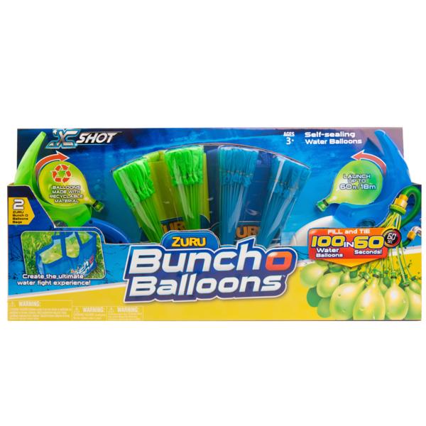 Bunch O Balloons Z1222 Супернабор на двух игроков: 140 шаров с пусковыми устройствами и сумками