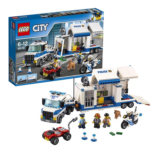 LEGO City 60139 Конструктор ЛЕГО Город Мобильный командный центр рация