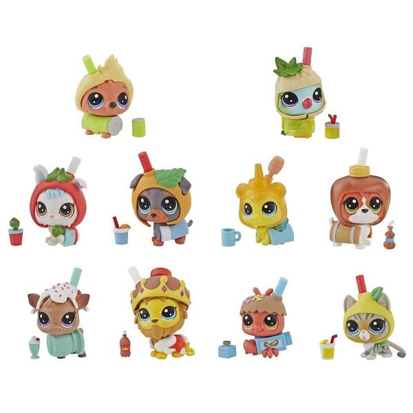 """Hasbro Littlest Pet Shop E5479 Литлс Пет Шоп Игровой набор """"Игрушка пет в напитке""""(в ассортименте) littlest pet shop игрушка мягконабивная пет прилипала buster boxington"""
