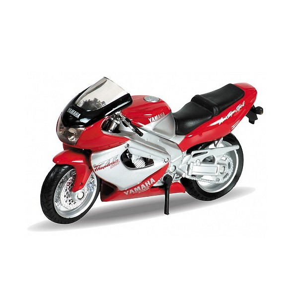 Welly 12154P Велли Модель мотоцикла 1:18 MOTORCYCLE / YAMAHA 2001 YZF1000R THUNDERACE welly модель мотоцикла 1 18 yamaha yzf r1