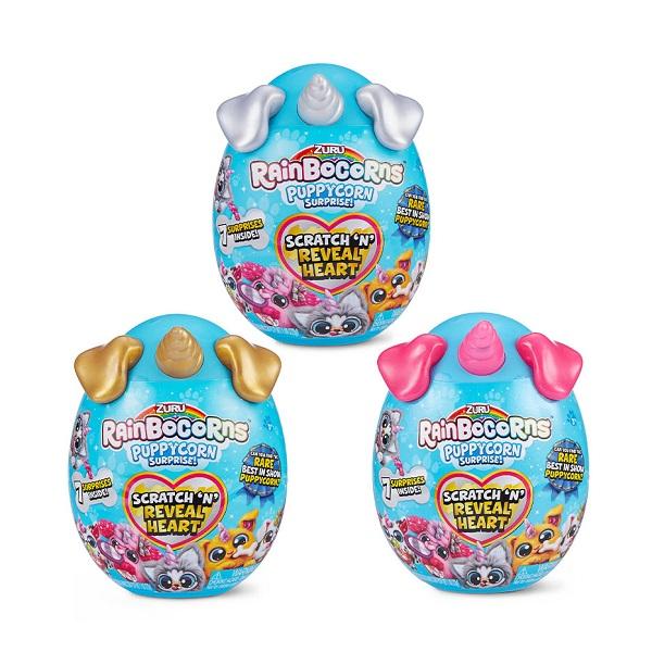 Zuru RainBocoRns T20716 плюш-сюрприз Puppycorn мини в яйце (в ассортименте)