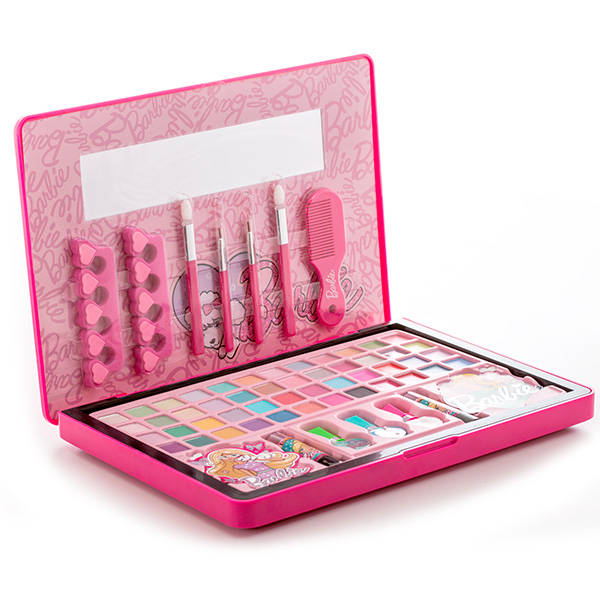 Markwins 9601151 Barbie Набор детской декоративной косметики в кейсе
