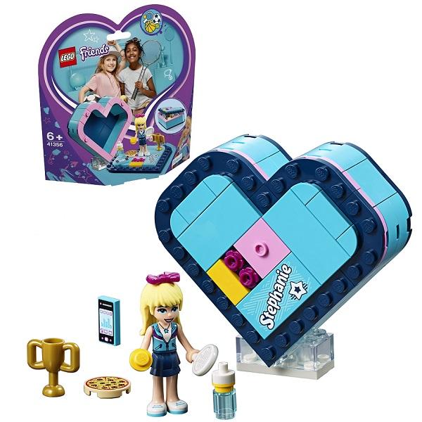 LEGO Friends 41356 Конструктор ЛЕГО Подружки Шкатулка-сердечко Стефани конструктор lego friends 41338 спортивная арена для стефани