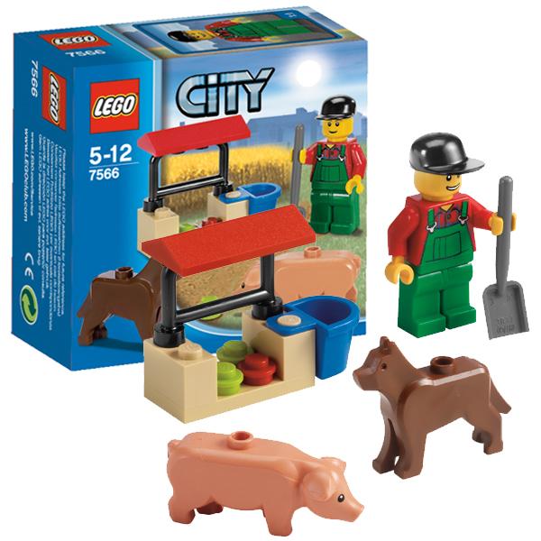 Lego City 7566 Конструктор Лего Город Фермер