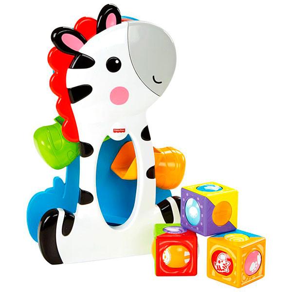 Mattel Fisher-Price CGN63 Фишер Прайс Зебра с волшебными кубиками игровые наборы fisher price mattel игровой набор парящий фрегат