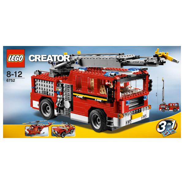 Конструктор Lego Creator 6752 Пожарная бригада