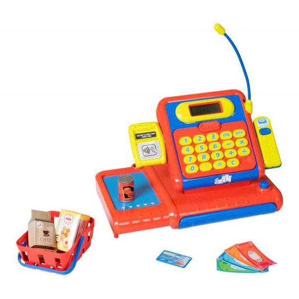 HTI 1684310 Касса супермаркета Smart игровые наборы профессия hti кассовый аппарат smart