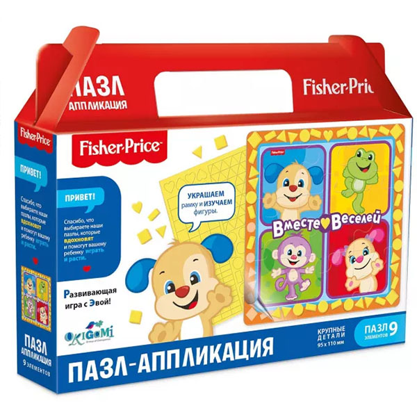 Origami OR05033 Fisher Price Пазл Вместе веселей 93 элемента buck charles neville the code of the mountains