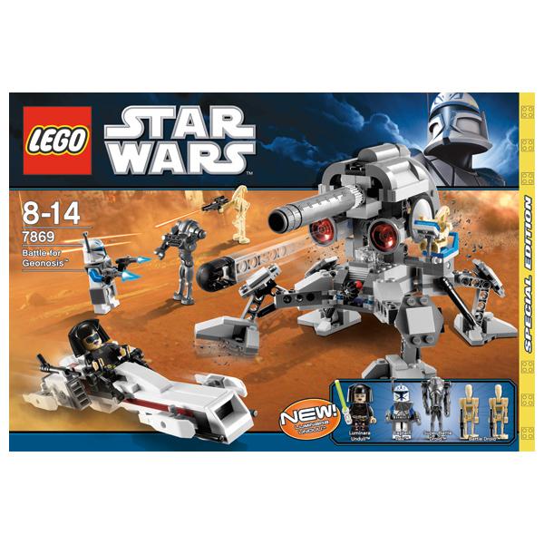 Lego Star Wars 7869 Конструктор Лего Звездные войны Битва за Джеонозис