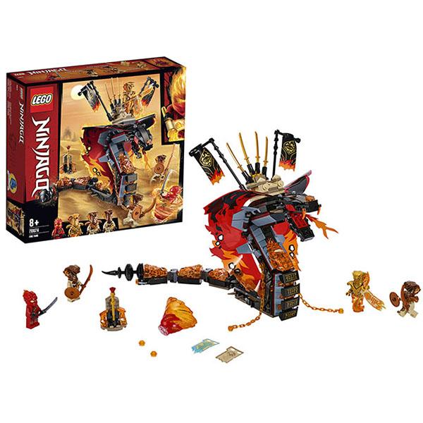 LEGO Ninjago 70674 Конструктор ЛЕГО Ниндзяго Огненный кинжал lego ninjago 70644 конструктор лего ниндзяго хозяин золотого дракона