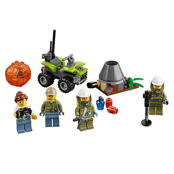 Lego City 60120 Конструктор Лего Город Набор для начинающих Исследователи Вулканов