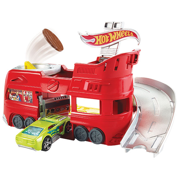 Mattel Hot Wheels FDF56 Хот Вилс Трансформирующиеся игровые наборы игровые наборы море чудес набор грот русалочки