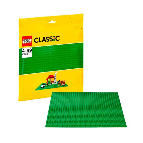 Lego Classic 10700 Лего Классик Строительная пластина зеленого цвета