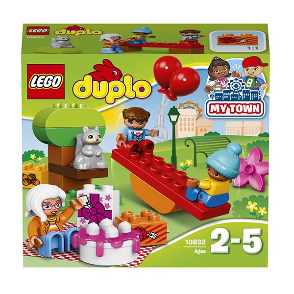 LEGO DUPLO 10832 Конструктор ЛЕГО ДУПЛО День рождения