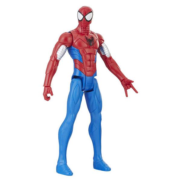 Hasbro Spider-Man E2324/E2343 Фигурка Человека Паука Pow.pack В механизированной броне 30 см цена 2017