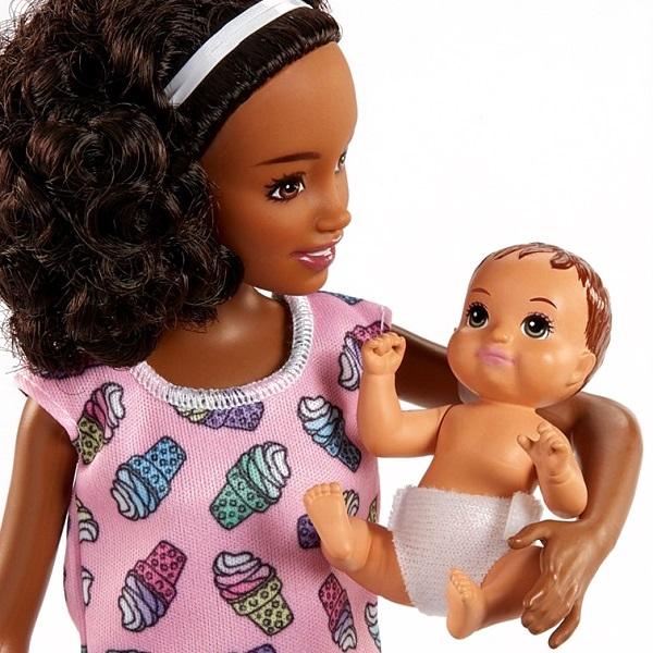 "Mattel Barbie FHY99 Барби Набор ""Няня"""