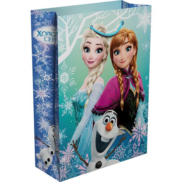 Пакет подарочный R33163 Холодное сердце 350*250*90 росмэн подарочный пакет миньон монарх 350 250 90