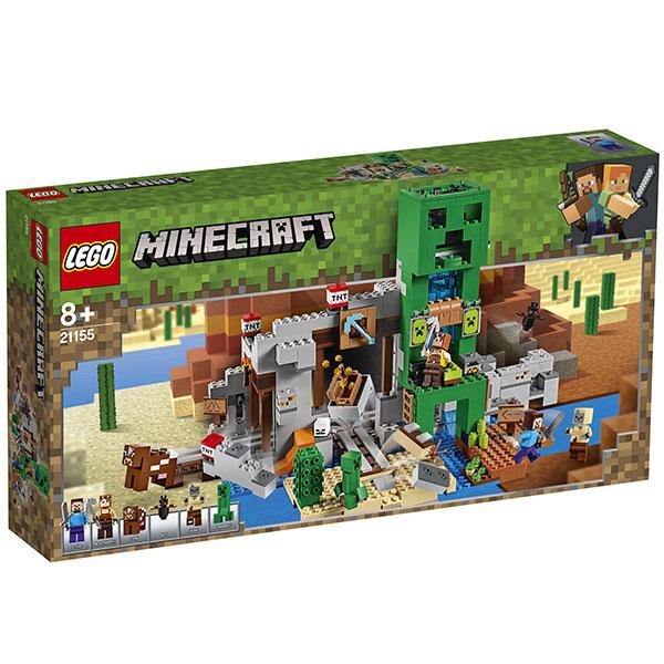 LEGO Minecraft 21155 Конструктор ЛЕГО Майнкрафт Шахта крипера