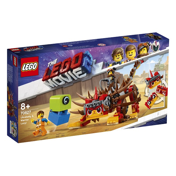 Конструктор Lego Movie 2 70827 Конструктор 2 Ультра-Киса и воин Люси