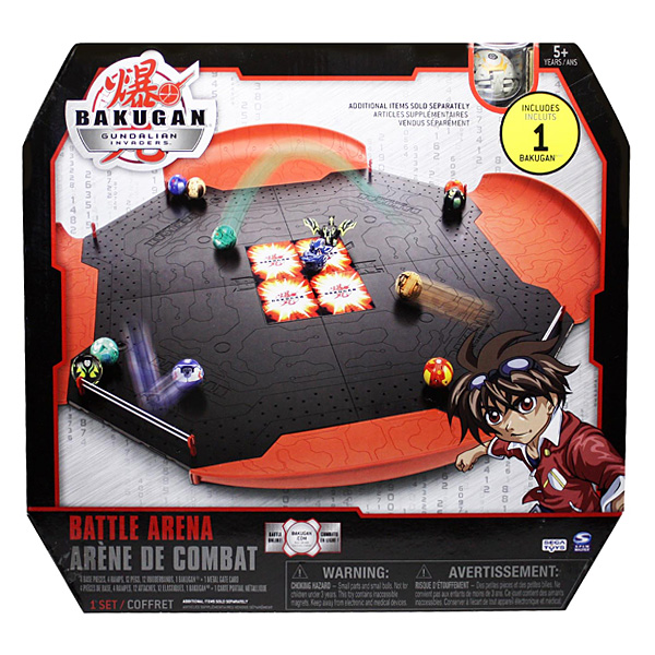 Bakugan Бакуган 3 Сезон 64262S круглая арена для битв (Battle Arena)