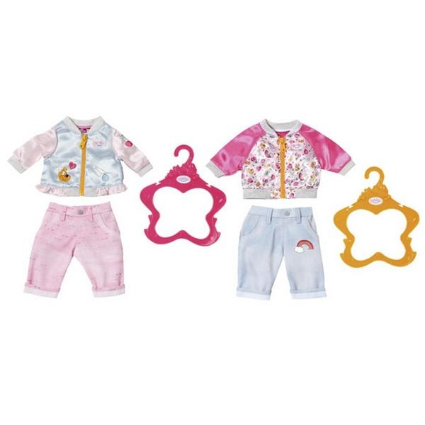 Zapf Creation Baby born 824-542 Бэби Борн Штанишки и кофточка для прогулки куклы и одежда для кукол zapf creation baby born детское питание 12 пакетиков