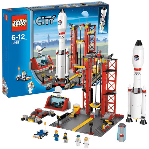 LEGO City 3368 Конструктор ЛЕГО Город Космодром