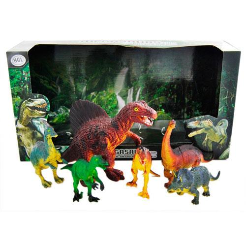Megasaurs SV10605 Мегазавры Игровой набор динозавров, 6 шт