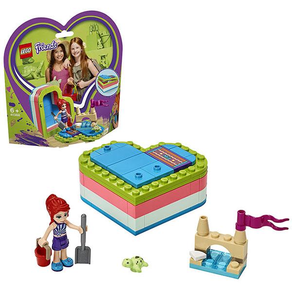 LEGO Friends 41388 Конструктор ЛЕГО Подружки Летняя шкатулка-сердечко для Мии
