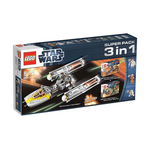 Lego Superpack 66411 Конструктор Лего Суперпэк Звездные Войны Подарочный