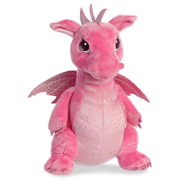Aurora 170415A Дракон розовый, 30 см все цены