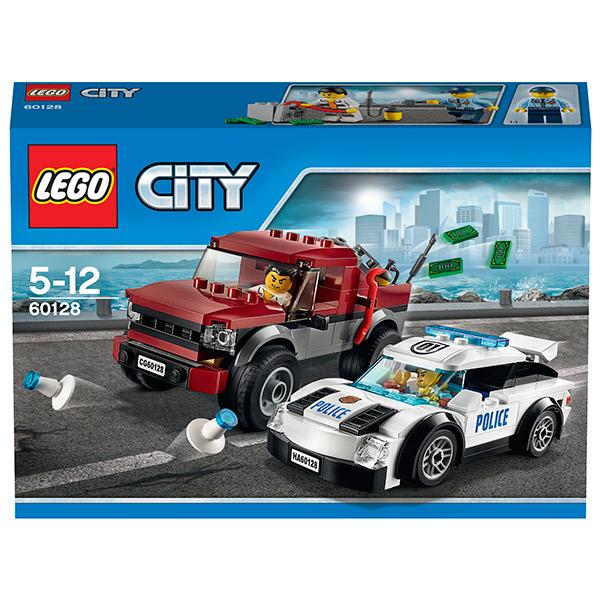 Lego City 60128 Конструктор Лего Город Полицейская погоня