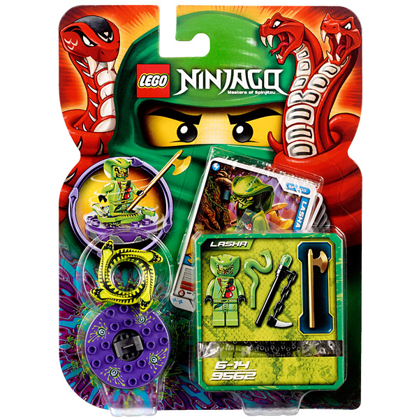 Lego Ninjago 9562 Конструктор Лего Ниндзяго Лаша