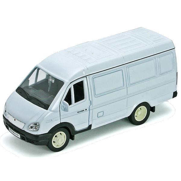 Купить Welly 42387C_9 Велли Модель машины 1:34-39 ГАЗель фургон 42387C_9