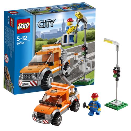 Lego City 60054 Конструктор Лего Город Лёгкий автомобиль техпомощи