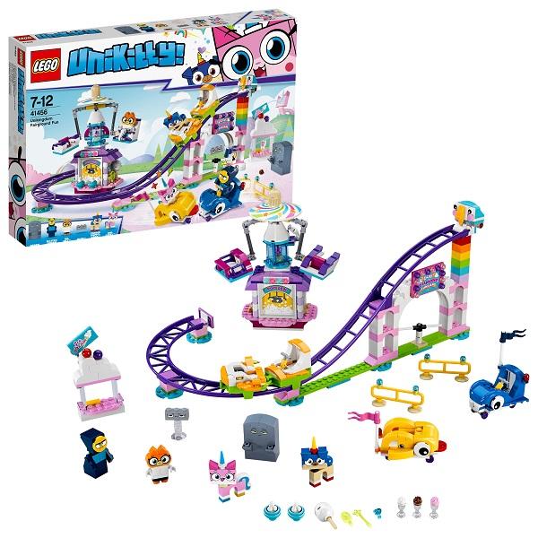 Lego Unikitty 41456 Конструктор Лего Юникитти Весёлая ярмарка Королевства tukzar конструктор весёлая бижутерия
