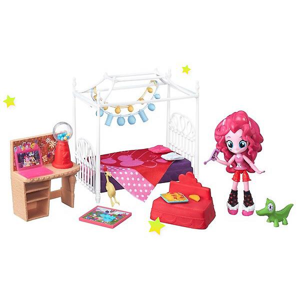 """Hasbro My Little Pony B8824_9 Игровой набор кукол EG """"Пижамная вечеринка"""" (в ассортименте)"""