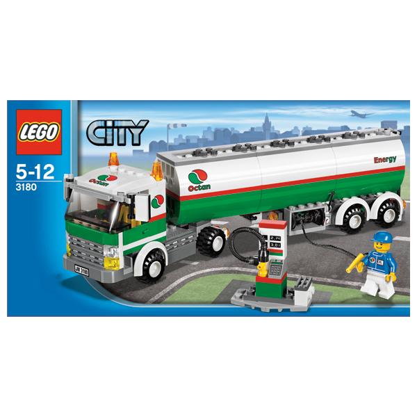 LEGO City 3180 Конструктор ЛЕГО Город Автоцистерна