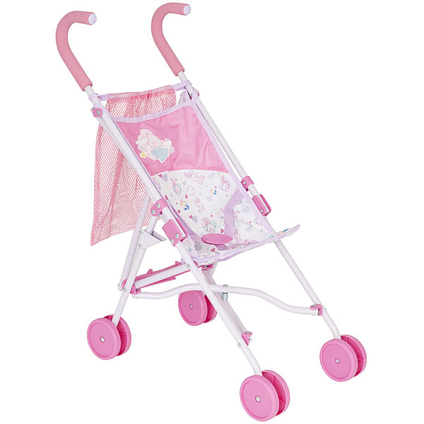 Zapf Creation Baby Born 1423574 Бэби Борн Коляска-трость с сеткой
