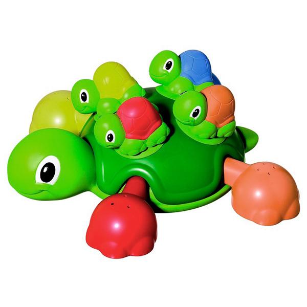 TOMY BathToys T72097 Томи Игрушки для ванны Веселые черепашки для ванной игрушки для ванны playgo игрушка для ванной утята