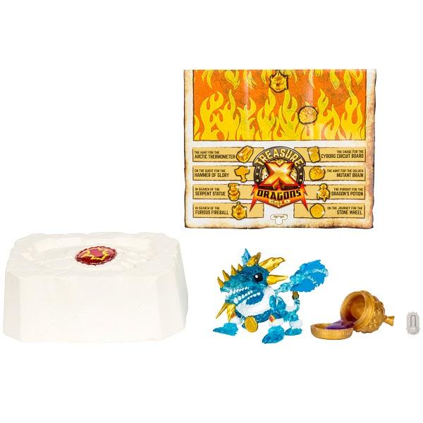 Treasure X 41508T Набор Золото драконов (дракон + сокровище) фигурки героев мультфильмов moose treasure x золото драконов 41507