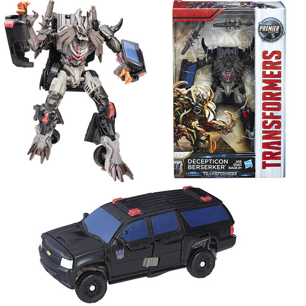 Hasbro Transformers C0887/C1322 Трансформеры 5: Делюкс Десептикон Берсеркер hasbro transformers c0889 c1328 трансформеры 5 последний рыцарь легион гримлок